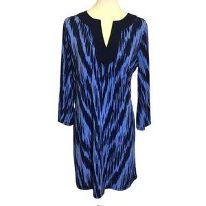 MICHAEL Michael Kors Blue Dress 3/4 Sleeves Large